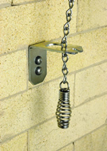 The Lock-Top Fireplace damper opens and closes easily with this handle mounted in your firebox